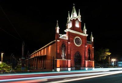 L'église Maria Auxiliadora - Cartago (Costa Rica)