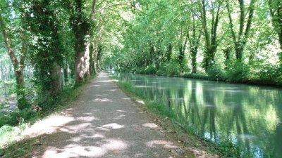 Voie verte de Damazan à Fourques-sur-Garonne