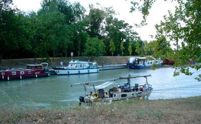 Halte nautique de Sérignac-sur-Garonne