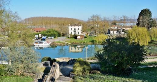 Le port de Damazan - Canal de Garonne