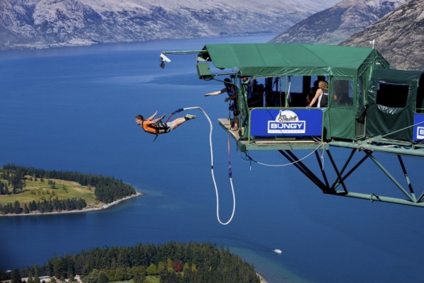 Plateforme de saut à l'élastique de Queenstown - NZ