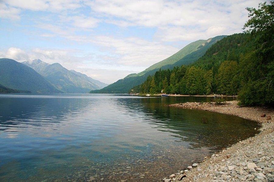 Le Sproat Lake (île de Vancouver - Canada)