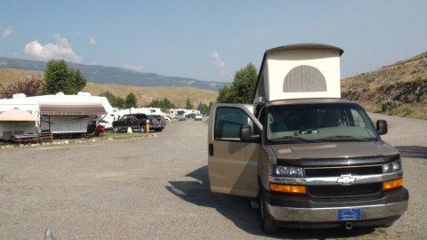 RV Yellowstone Park - Gardiner (Montana)