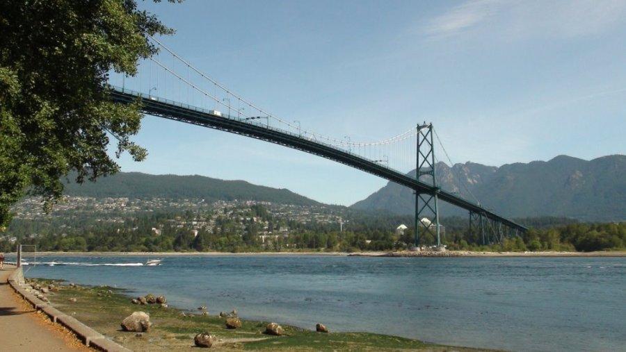 Lions Gate Bridge - Vancouver - Colombie Britannique (Canada)