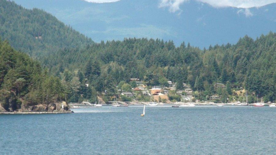 Ferry de Nanaimo à Horseshoe Bay - Canada
