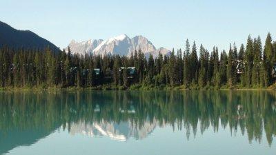 Le lac Emeraude - Le parc National Yoho - Rocheuses canadiennes