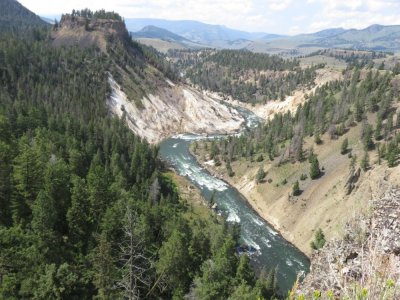 Le parc du Grand Canyon - Yellowstone NP