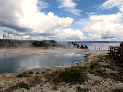 Abyss Pool - Le Parc National de Yellowstone - Wyoming (USA)