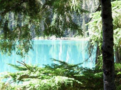 Sur la route entre Whistler et Kamloops - Canada