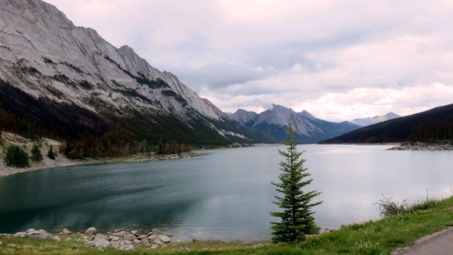 Le lac Medicine - Jasper NP (Canada)