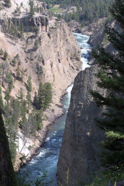 Le parc du Grand Canyon - Yellowstone NP