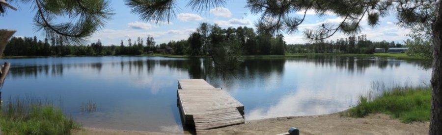 Au Davy Lake campground Ignace - Canada