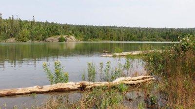 Lac entre Thunder Bay et Marathon - Ontario (Canada)