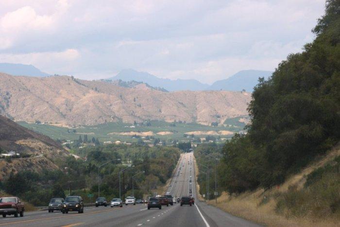 Arrivée à Leavenworth - USA