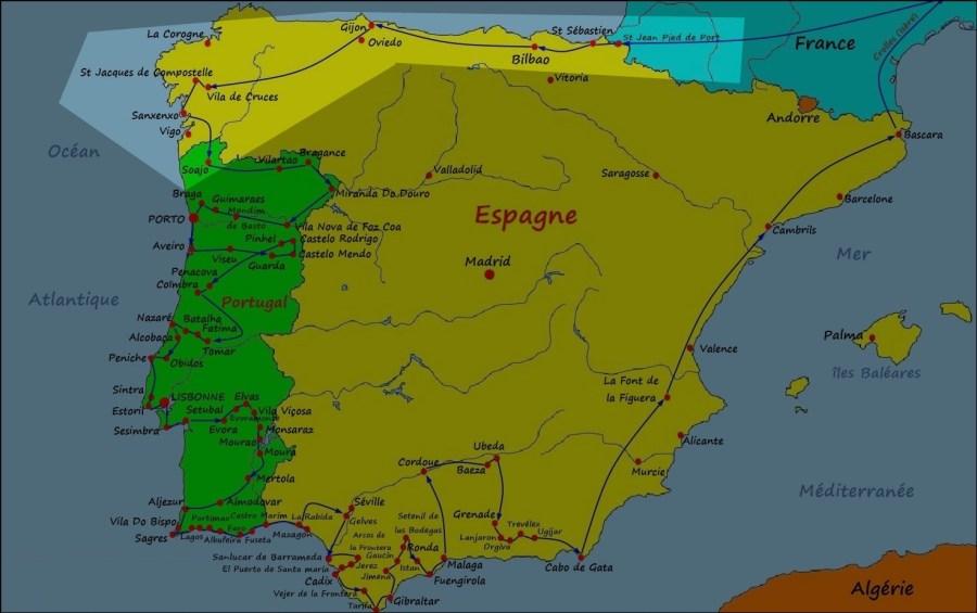 L'Espagne du Nord