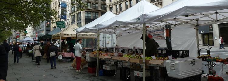 Marché sur Wall Street - Manhattan