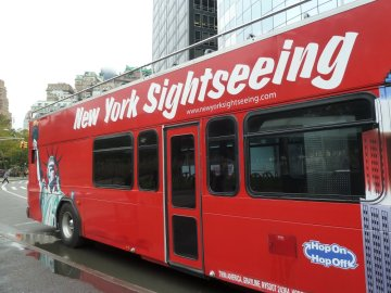 Bus à impériale - Manhattan