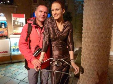 Luc et son amie Julia Roberts !