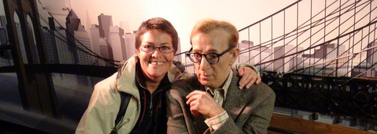 Myriam, très copine avec Woody Allen !