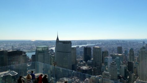 New York depuis The Top of the Rock