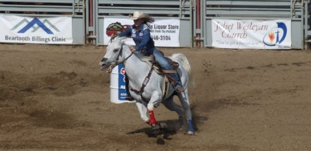 rodéo chevaux Red Lodge Juillet 2015