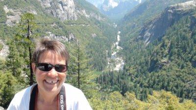 Sur la route entre Folsom et le Yosemite NP - Californie