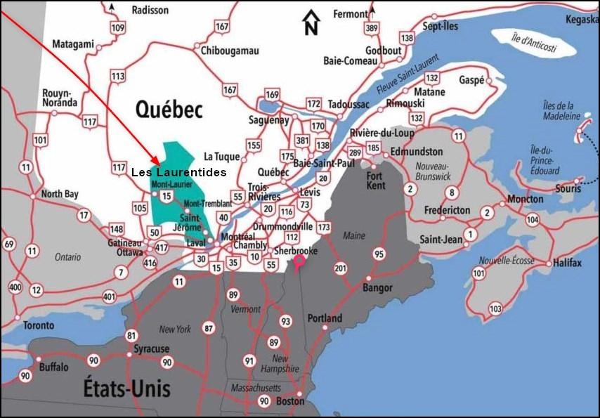 Les Laurentides au Québec