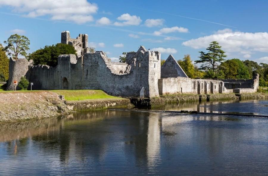 Les ruines du château Desmond - Adare (Irlande)