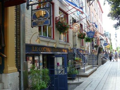 Le Petit Champlain dans le vieux Québec