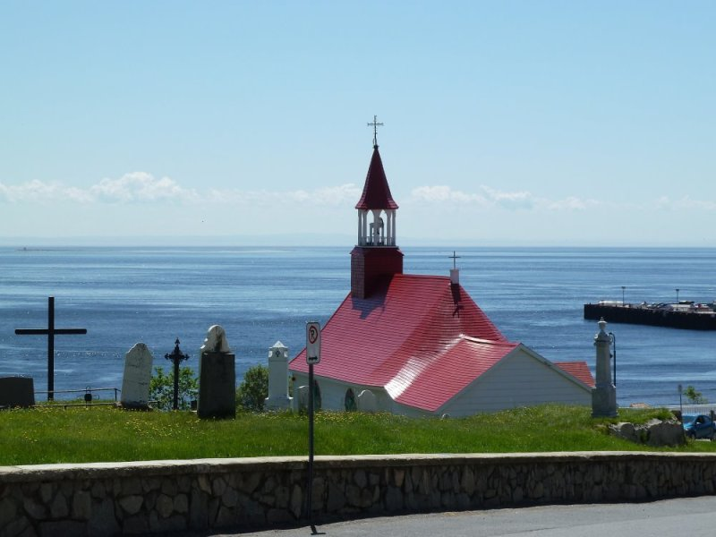 L'église de Tadoussac - Québec
