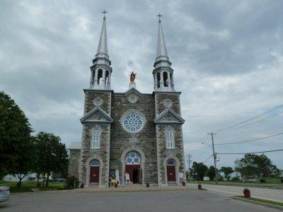 L'église St Louis - l'Isle aux coudres - Québec