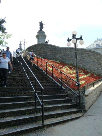Le quartier du petit Champlain - Québec