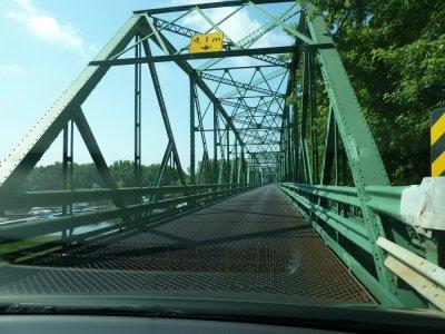 Sur la route entre Québec et Montréal - Canada