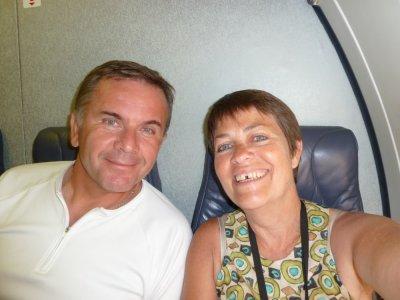Vol pour Paris via Montréal
