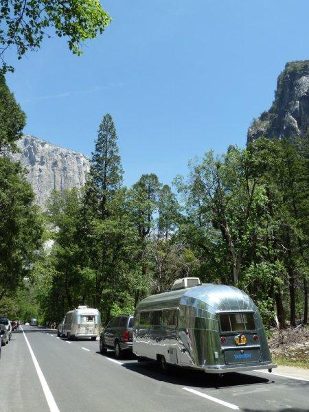 Caravane typique américaine !