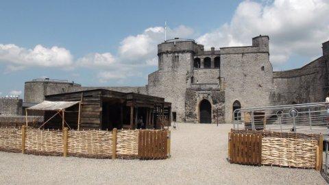 King John's Castle - Limerick (Irlande)