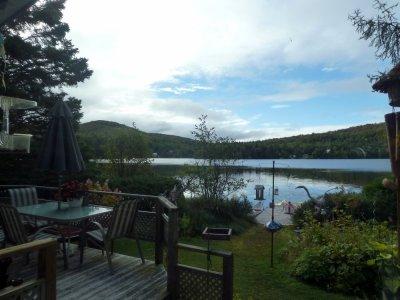 Val des Lacs au bord du lac Gagnon - Québec