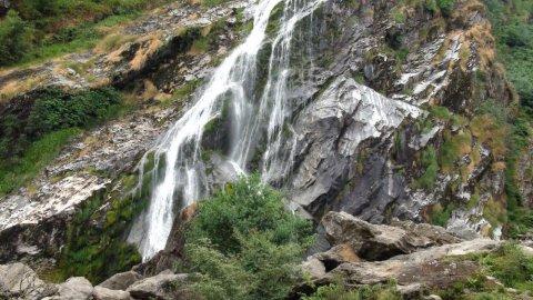 The Powerscourt Waterfall de Dublin - Irlande