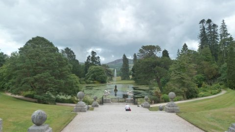 Au Powerscourt Estate de Dublin - Irlande
