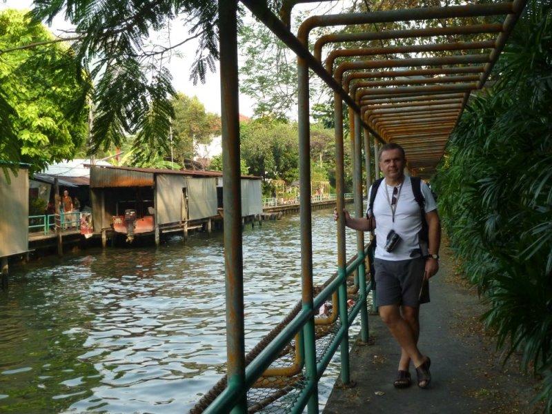 Les klongs de Bangkok - Thaïlande