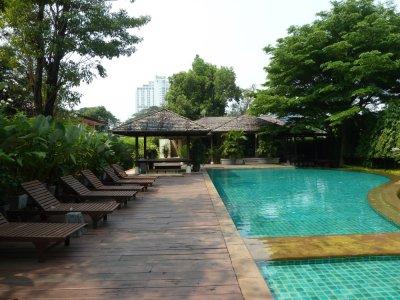 Notre résidence au village thaï de Bangkok