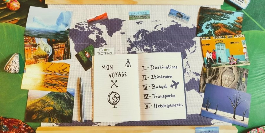 Planning – Itinéraire – Budget et organisation du voyage