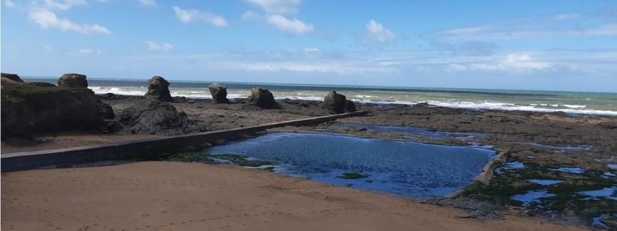 Les 5 Pineaux - St Hilaire-de-Riez à marée basse