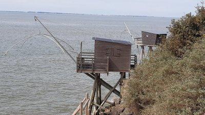 Les cabanes de pêcheurs - Pornic