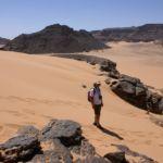 Le désert libyen