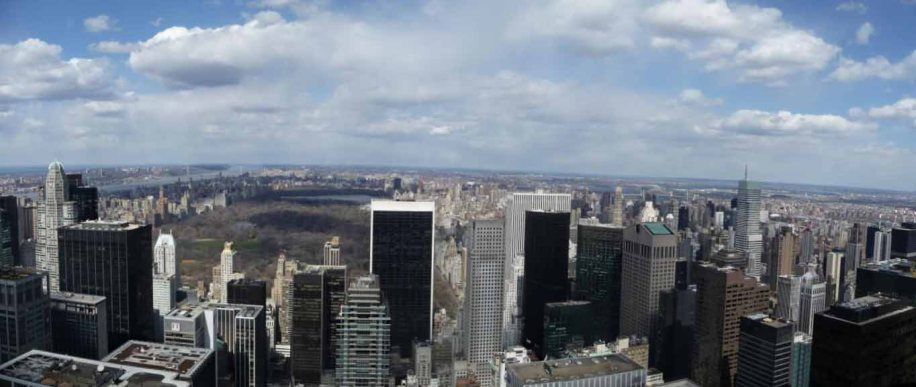 Vue panoramique Top Of The Rock
