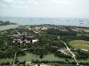 Vue Terrasse Marina Bay Sands