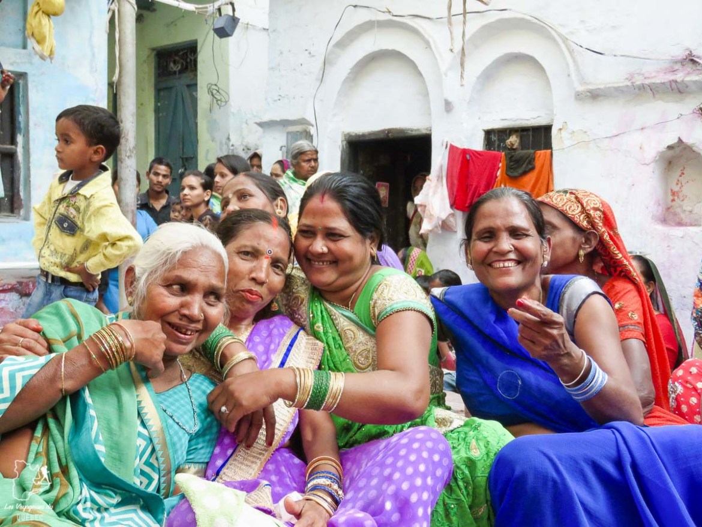 Femmes rencontrées à Varanasi en Inde dans mon article Varanasi en Inde : mon séjour émouvant dans la capitale spirituelle indienne #varanasi #benares #inde #india #voyage #asie #femmes