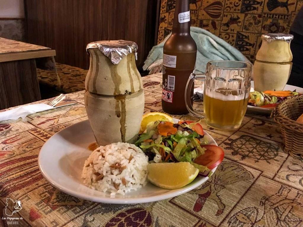 Le testi kebab à goûter en Cappadoce en Turquie dans mon article Mon itinéraire en Turquie: Que faire, voir et visiter en 7 jours #turquie #voyage #asie #cappadoce #istanbul