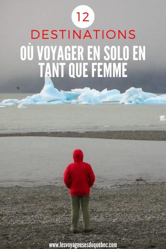 Voyage en solo au féminin